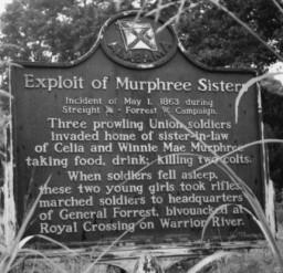 Murphree Historical Marker