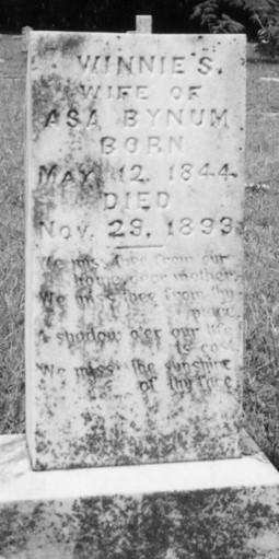 Murphree Tombstone