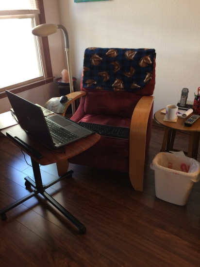 My Writing Space-Taft