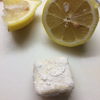 Lemon and Butter rolled in flour