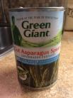 Asparagus-canned