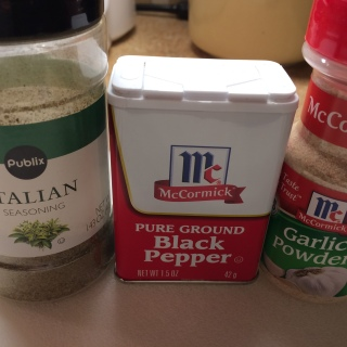 Three simple seasonings