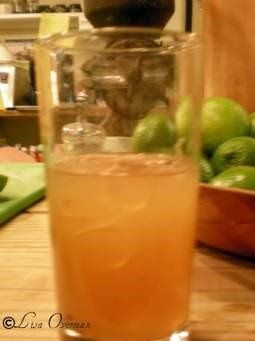 Glass of Rum PUnch